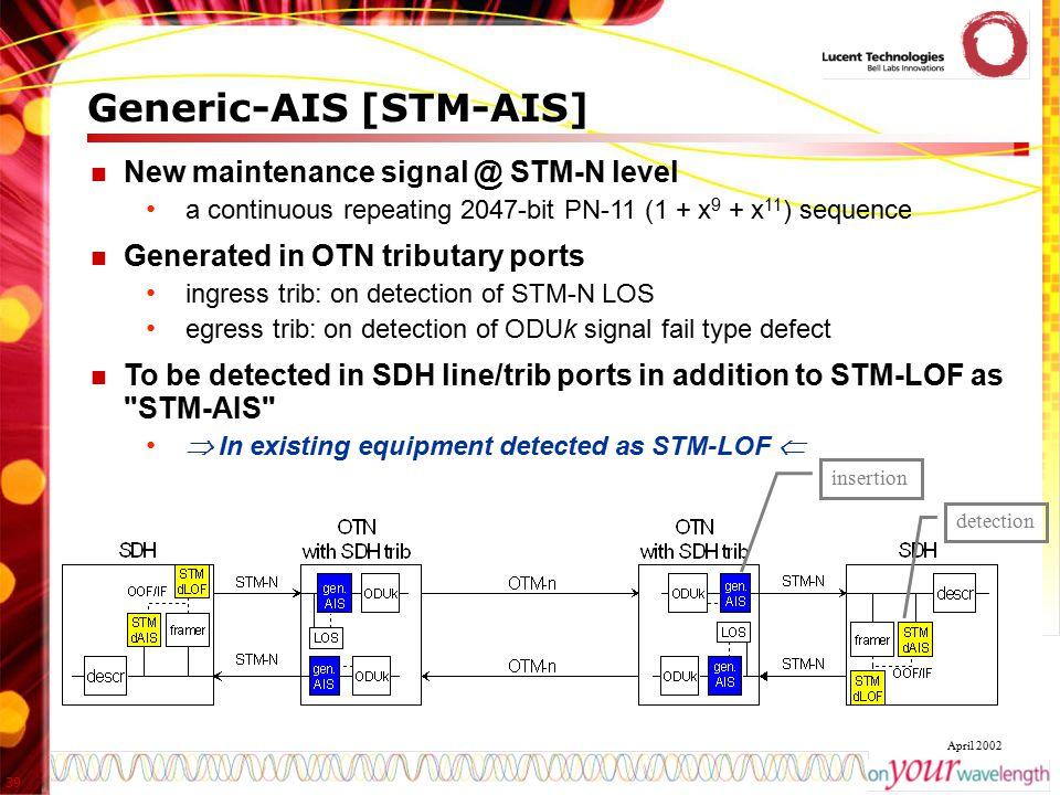 Generic-AIS [STM-AIS]
